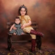 آنیتا آماده 9 ساله و آنوشا آماده 6 ماهه