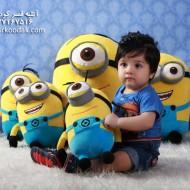 محمد حسین افشار 1 ساله